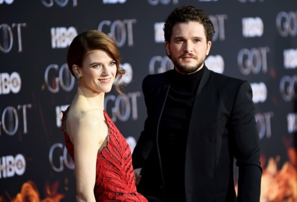 game of thrones Kit Harington Rose Leslie