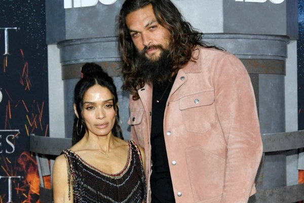 game of thrones premiere lisa bonet und jason momoa