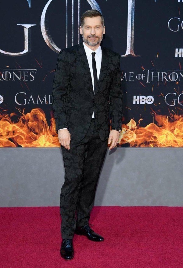 game of thrones premiere nikolaj coster-waldau