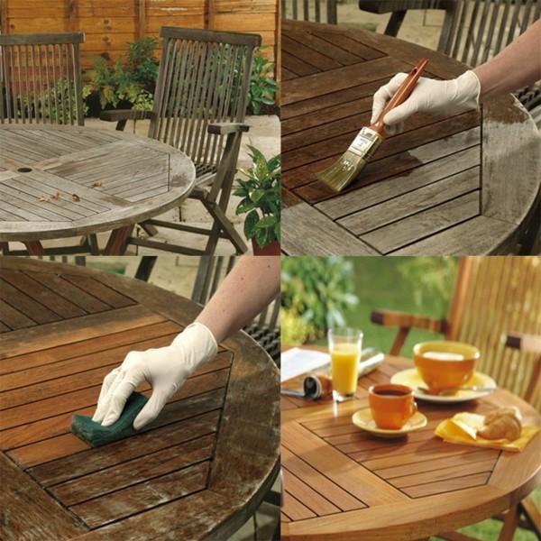gartenmöbel ölen und pflegen auf den sommer vorbereiten