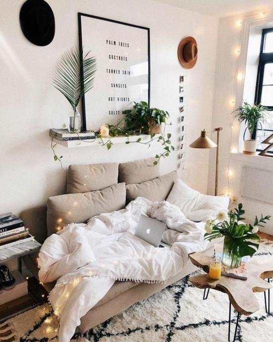gemütliches wohnzimmer slow living