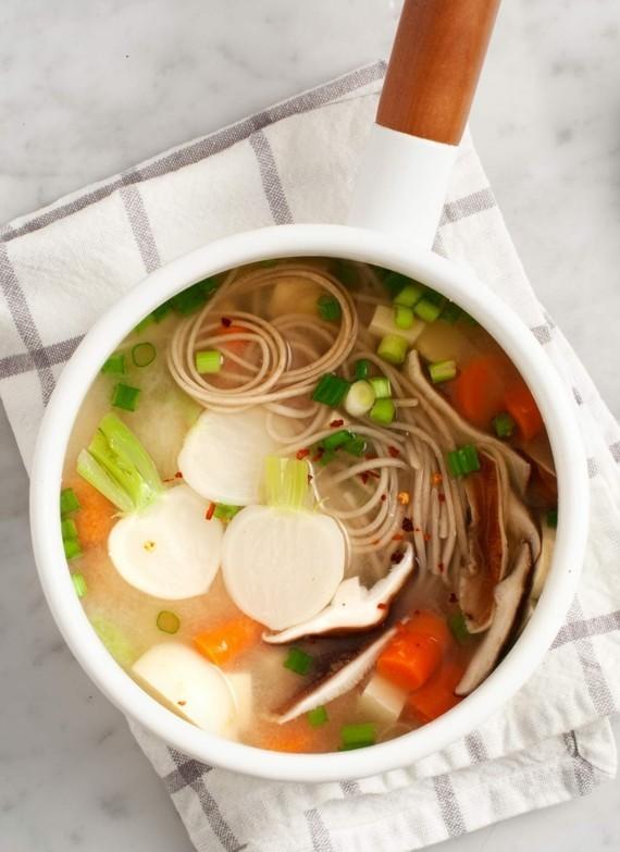 japanische Miso Suppe Rezept asiatische Suppe Zutaten