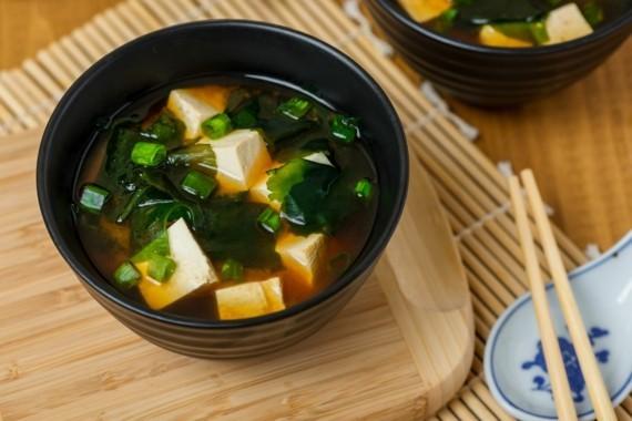 japanische Miso Suppe Rezept asiatische Suppe kochen
