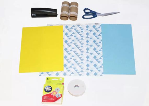 kinderleichte Laternen basteln einfache DIY Papierlaterne Materialien
