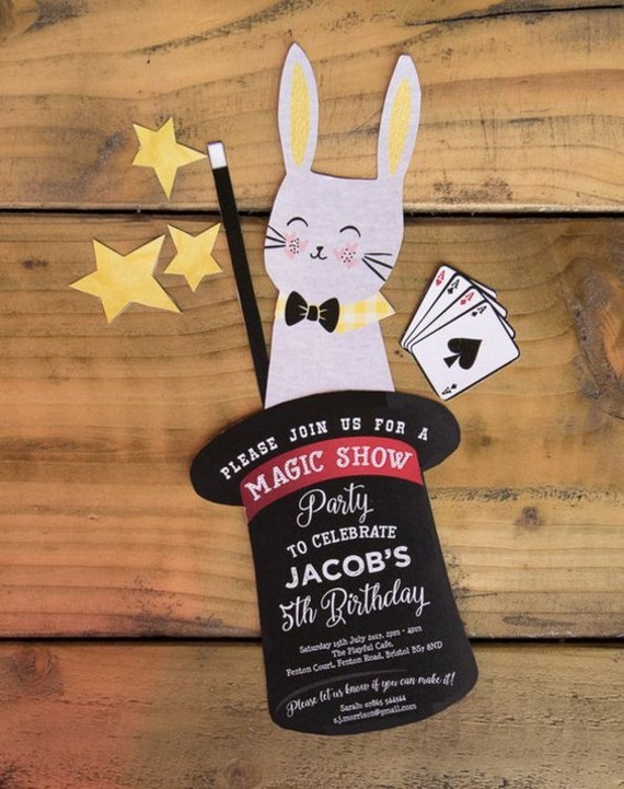 kreative Einladungskarten erstellen Hase Einladung