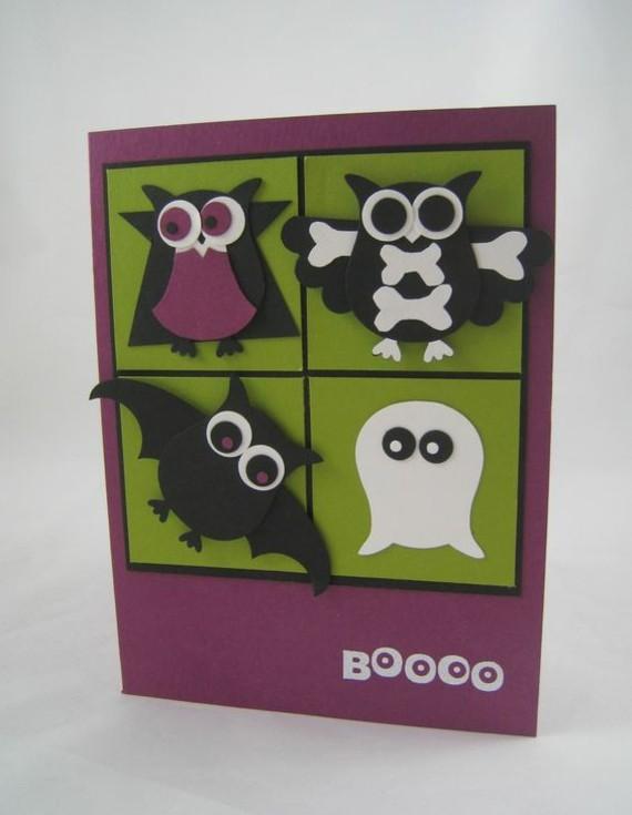 kreative Einladungskarten gestalten Halloween