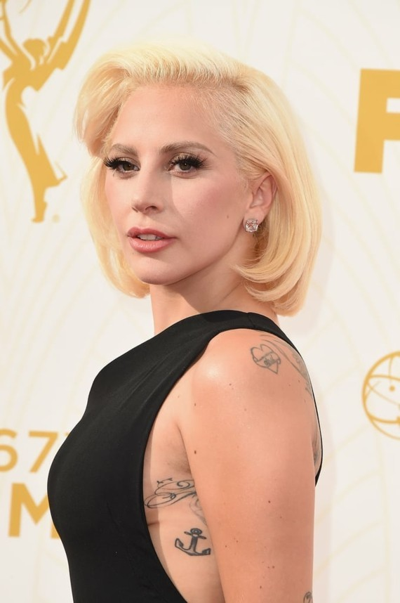 lady gaga tattoos anker