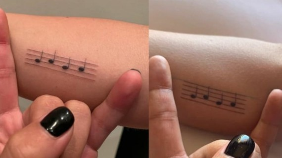 lady gaga tattoos noten