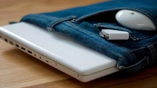 laptop taschen jeans upcycling ideen zum selbermachen
