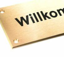 Namensschilder für individuelle Ansprache