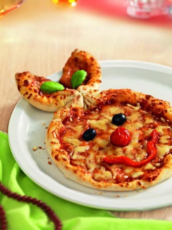 osterhasen pizza vegetarisch