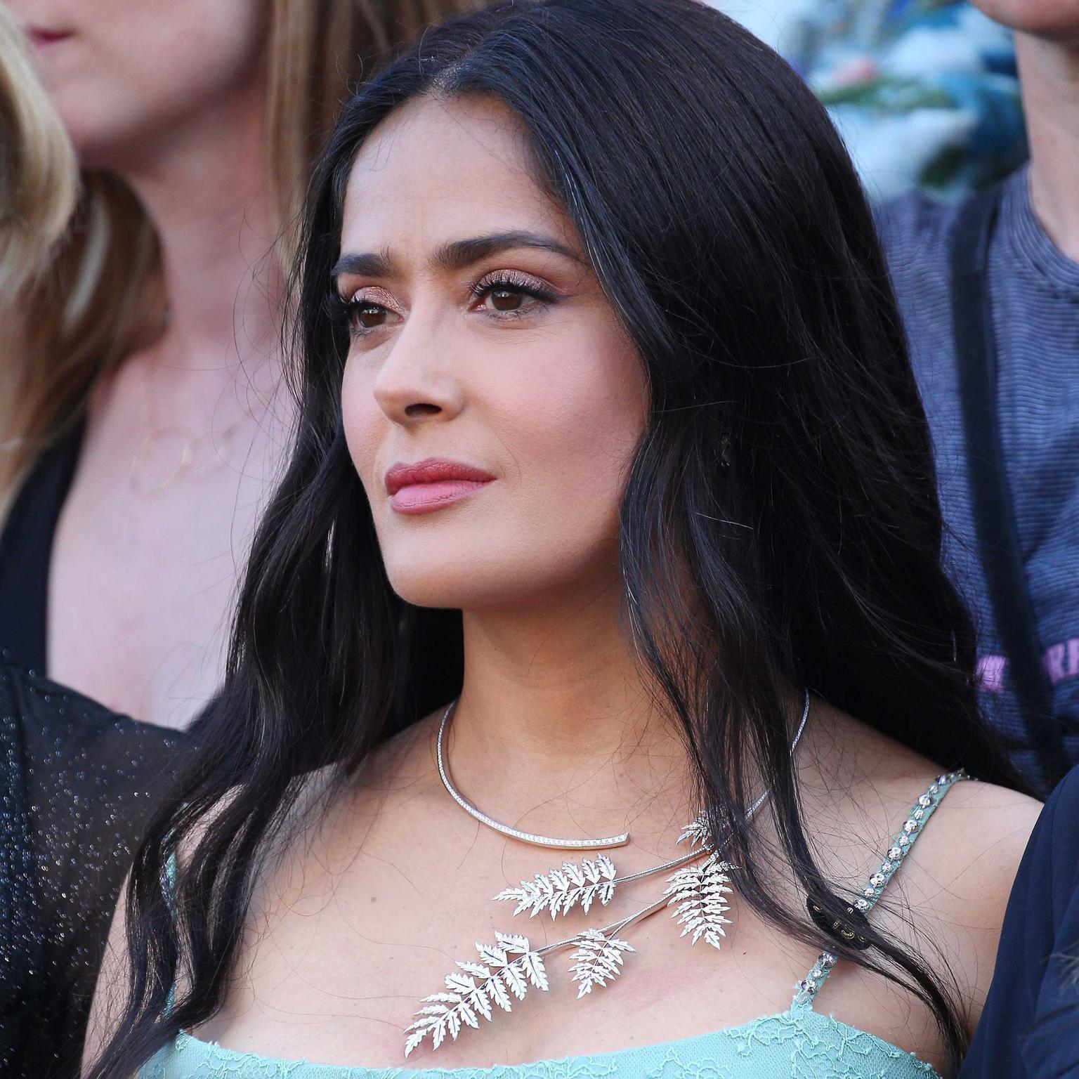 salma tolles bild langes haar