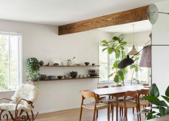 slow living naturmaterialien wohnzimmer