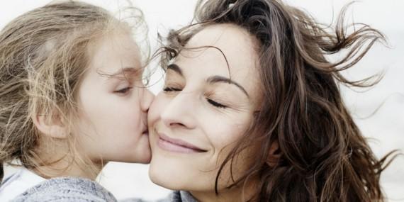 wann ist Muttertag 2019 Mutter Tochter Kuss Muttertag Datum