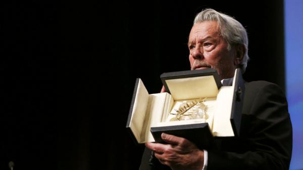 Alain Delon Preisverleihung Goldene Ehren-Palme Cannes 2019