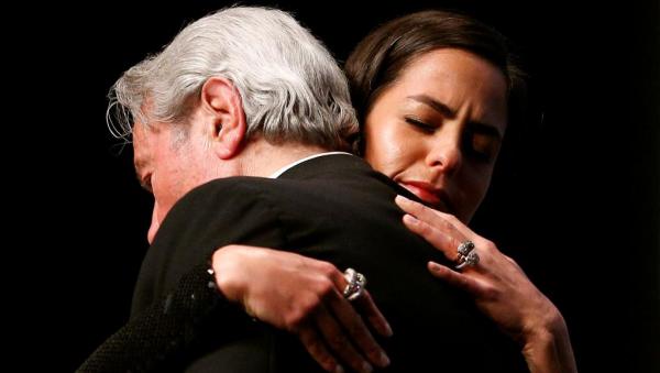 Alain Delon Tochter Anouchka Delon Ehrenpreisverleihung Cannes 2019