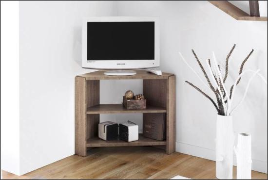 Eckmöbel clevere Lösung mehr Stauraum niedriger Eckschrank Fernseher