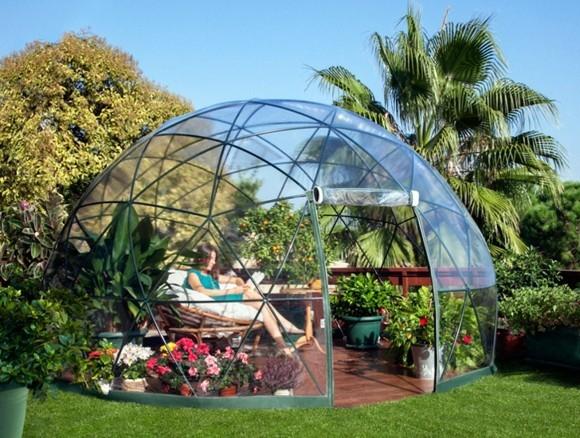 Garten Iglu moderner Wintergarten Gartendesign