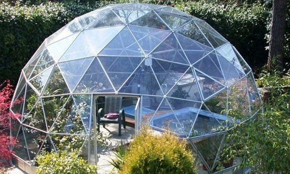 Garten Iglu moderner Wintergarten Gartengestaltung Ideen