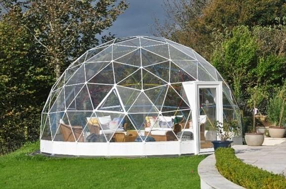 Garten Iglu moderner Wintergarten Design