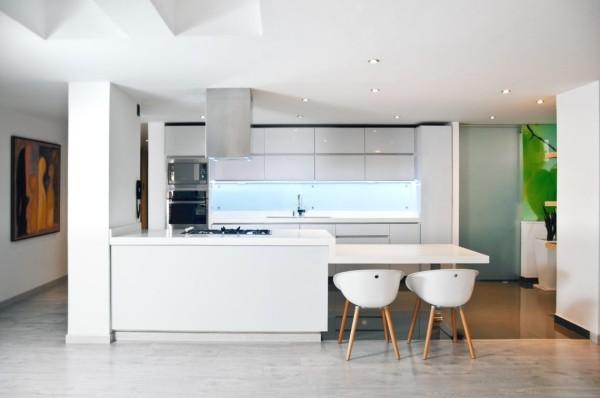 Grüne Akzente Küchentrends 2019