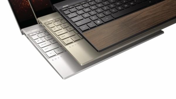 HP Laptop aus Holz kommt Herbst 2019 auf dem Markt drei farben finish aus holz envy