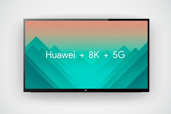 Huawei entwickelt ersten 5G 8K Fernseher der Welt huawei + 8k + 5g tv