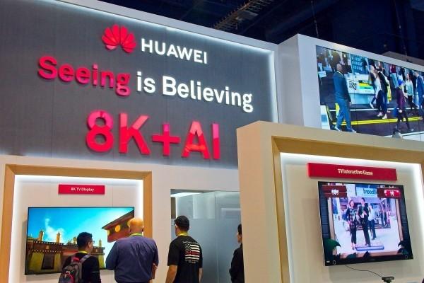Huawei entwickelt ersten 5G 8K Fernseher der Welt seeing is believing sehen ist glauben