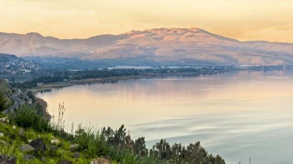 Israel Reisetipps See Genezareth schöne Natur