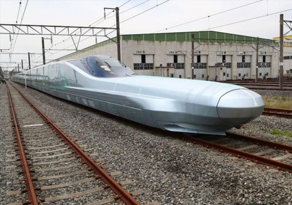 Japan testet Alfa-X, den schnellsten Hochgeschwindigkeitszug der Welt der schnellste zug strecke