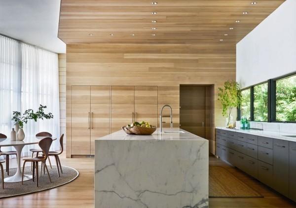 Küchentrends 2019 Marmor und Holz