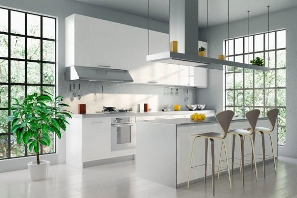 Küchentrends 2019 strahlendes weiß