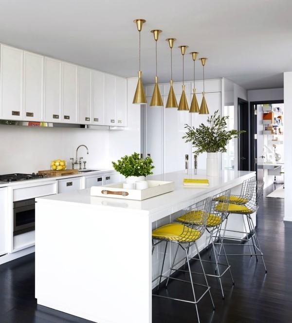 Küchentrends 2019 tolle gelbe akzente