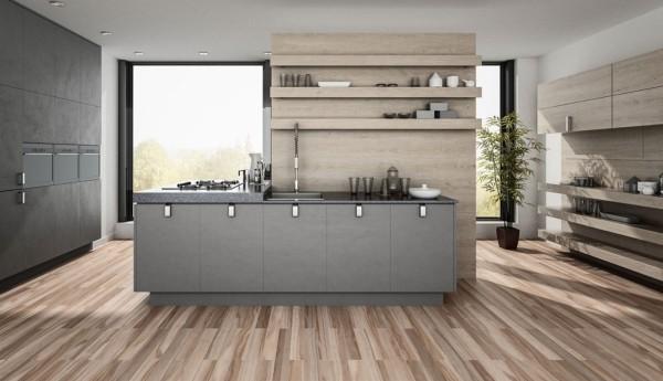 Küchentrends 2019 tolle graue einrichtung