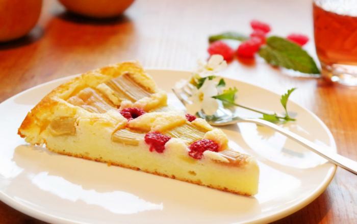 Kuchenrezepte zum Abnehmen Aprikosen-Quark-Grieß Kuchen ein Stück nur 89 kcal
