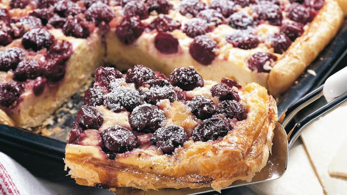 Kuchenrezepte zum Abnehmen Kirsch-Hefekuchen Klassiker unter den Sommerkuchen