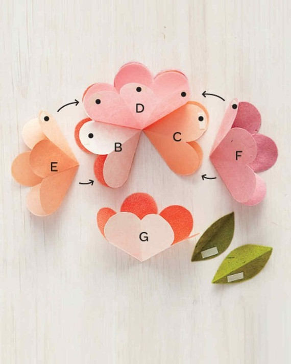 Last Minute Geschenke zum Muttertag 3D Grußkarte Blumen