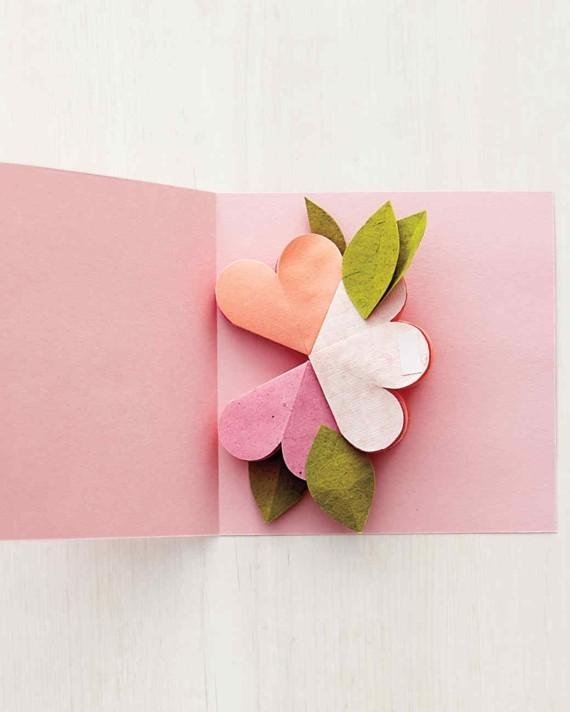 Last Minute Geschenke zum Muttertag 3D Karte Blumen Anleitung