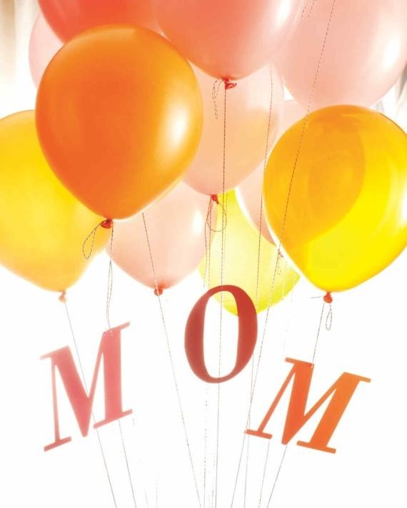 Last Minute Geschenk Muttertag Ballons