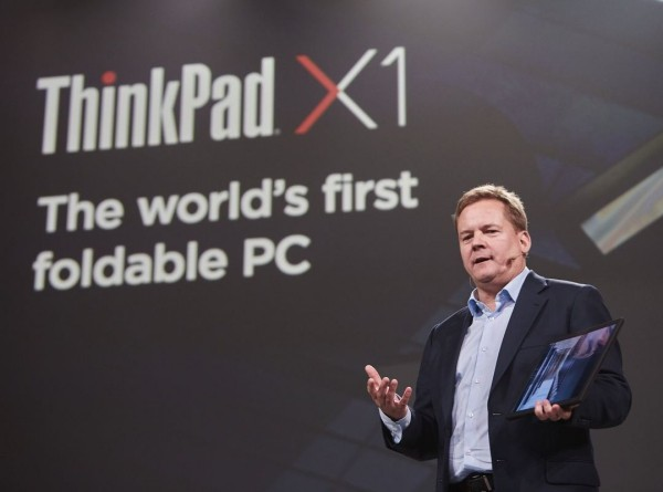 Lenovo arbeitet an einem ThinkPad X1 PC mit faltbarem Display christian teismann konferenz