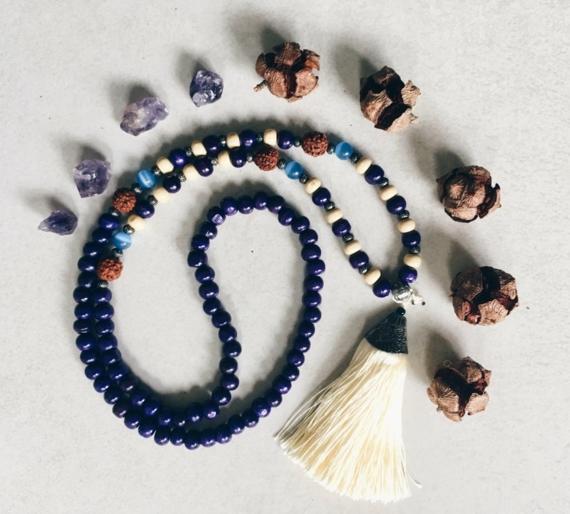 Mala Kette Japa Meditaion Mala Gebetskette