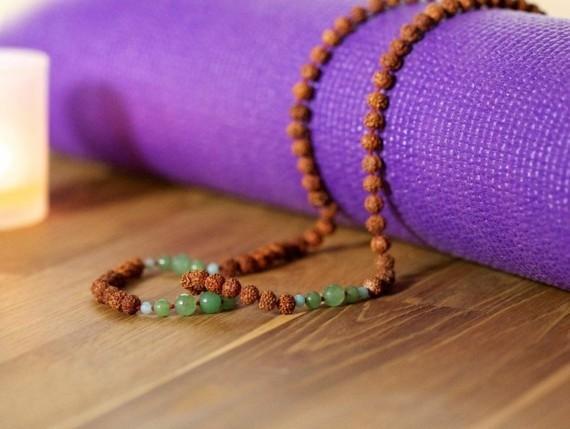 Mala Kette Japa Meditaion Yoga Unterricht