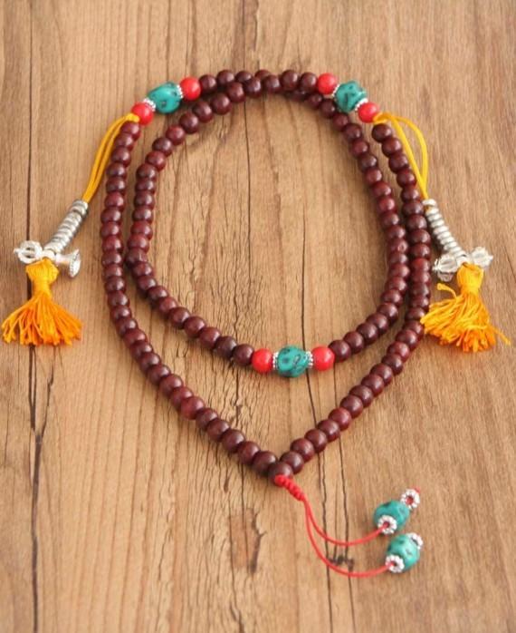 Mala Kette Japa Meditaion buddhistische Gebetskette