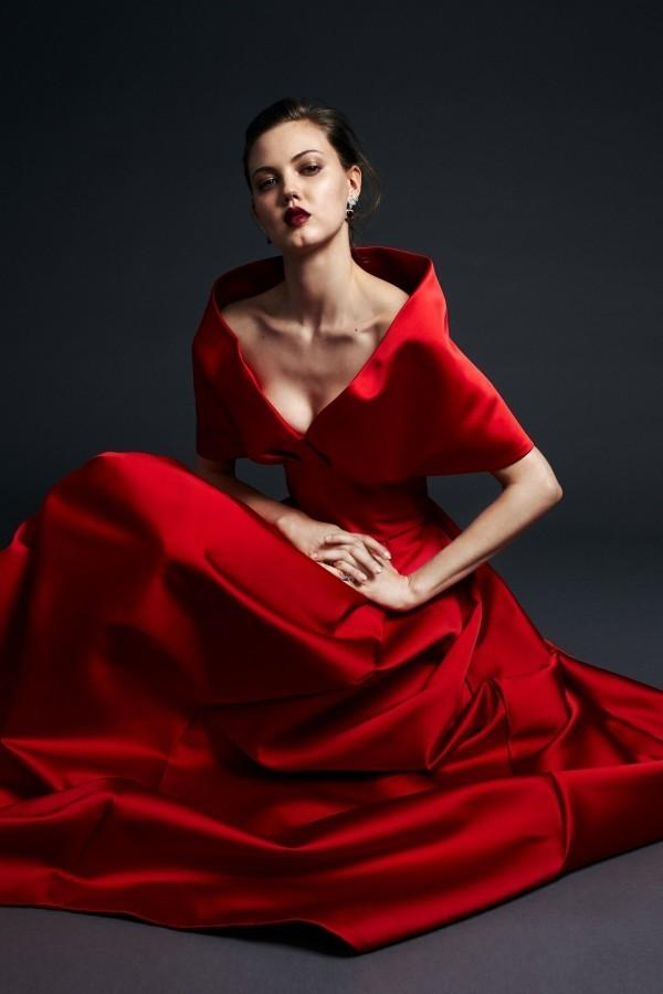Modetrends provokatives Rot