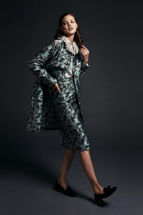 Modetrends toller Anzug mit Mustern