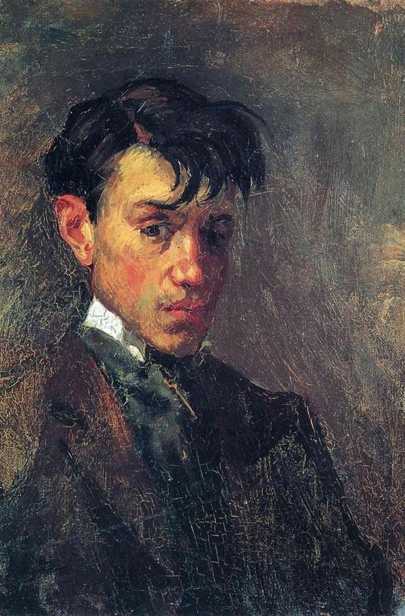 Pablo Picasso Selbstporträt 1896