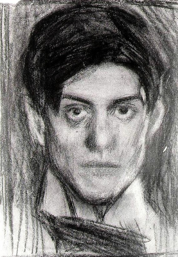 Pablo Picasso Selbstporträt 1900