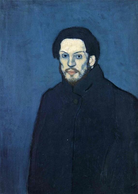 Pablo Picasso Selbstporträt 1901