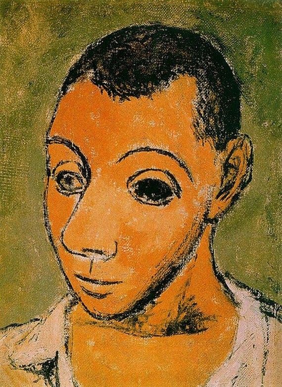 Pablo Picasso Selbstporträt 1906
