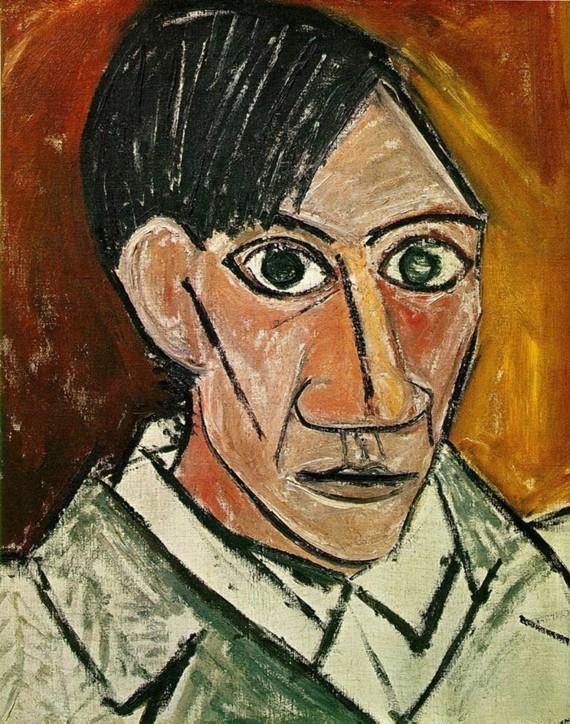 Pablo Picasso Selbstporträt 1907